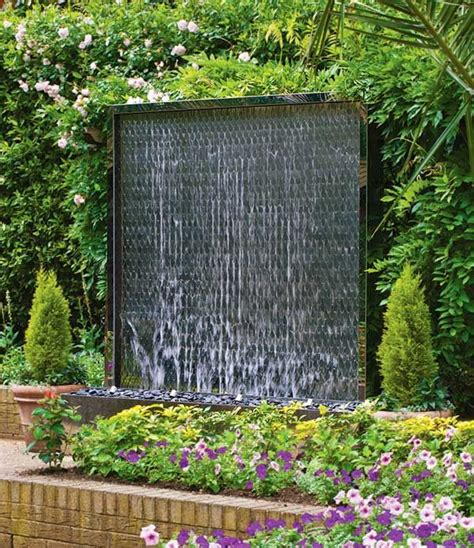 Modern Wall Water Features by Best 25 Wall Water Features Ideas On
