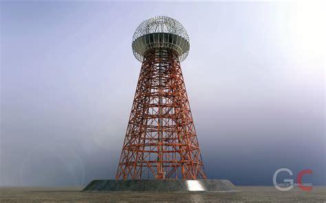 Tesla Coil Tower Tesla Tower Free 3d Model Stl Sldprt Sldasm Slddrw