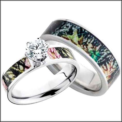 camo wedding rings pictures to pin on pinterest tattooskid