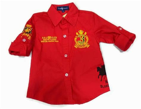 Baju Melayu Kemeja retail borong baju kanak kanak branded polo boy kemeja