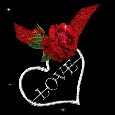 imagenes rosas movibles 7 imagenes de corazones de amor bonitas con movimiento