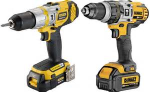 stanley vs black and decker yellow and black colored stanley fatmax power tools now