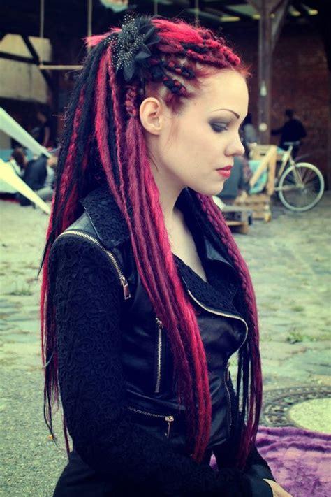 dreadlocks girl merry synthetic synthetic dreads hair best 20 synthetic dreads ideas on pinterest