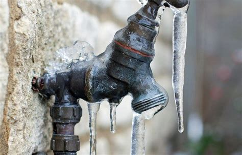 Outside Faucet Frozen by Tips For Preparing For Cold Weather And Winter Storms