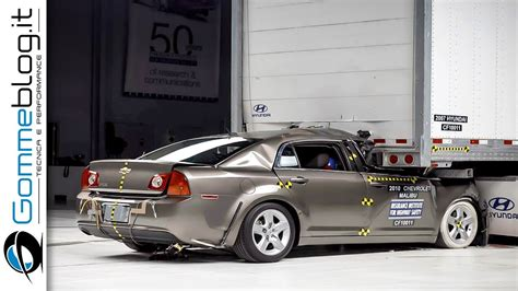 car crash test deadly crashes iihs crash tests car
