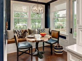 Kitchen Nook Ideas wood kitchen nook table ideas in pedestal design furnished with chairs