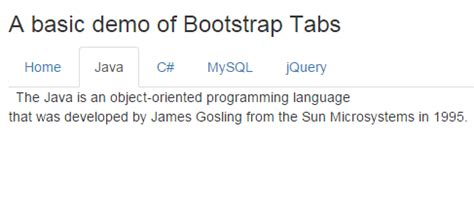 tutorial republic bootstrap tabs bootstrap tabs with 6 online exles