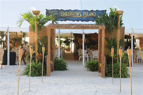 island themed decorations gilligan s island corporate themed event idea by savvy