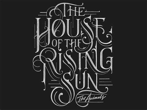 the house of the rising sun the house of the rising sun by mateusz witczak dribbble