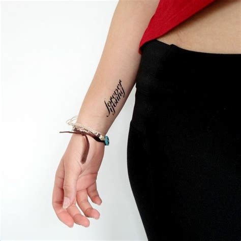 forever young temporary tattoo temporary tattoos