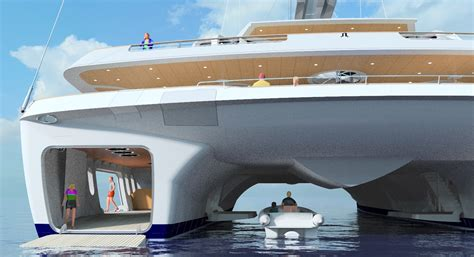 largest catamaran yacht world s largest sailing catamaran design to be presented