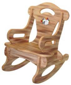 Baby Chair Rocker Brown Puzzle Rocker Rocking Chair Solid Wood For Kid
