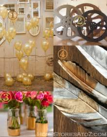 decorations to make at home oscar award party ideas home stories a to z