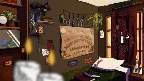 wiccan bedroom witch bedroom by wanderinglola on deviantart