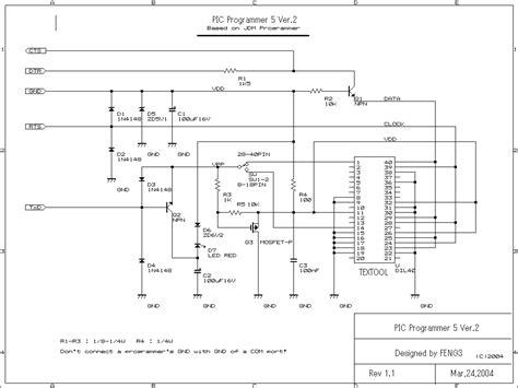 jdm programmer circuit diagram multi pic programmer record