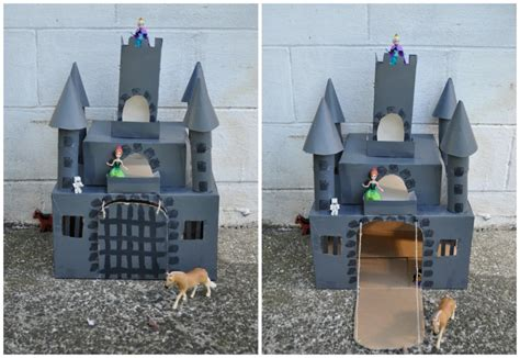 How To Make A Castle Out Of Paper - box castle be a