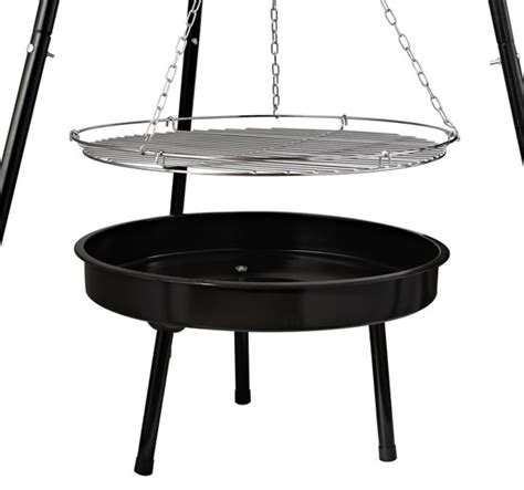 tripod bbq pit new adjustable tripod charcoal barbecue bbq cooking grill
