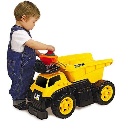 toddler ride on trucks caterpillar 3 in 1 dump truck ride on walmart