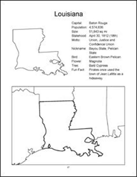 louisiana map coloring page english worksheet the lion and the mouse worksheet