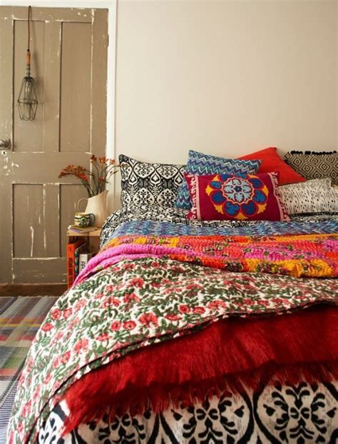 bohemian inspiriertes schlafzimmer 50 schlafzimmer ideen im boho stil freshouse