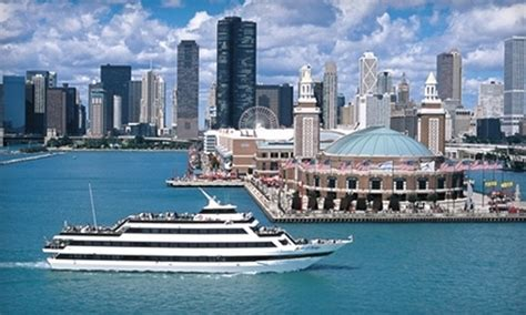 boat cruise chicago navy pier dinner cruise quot mystic blue quot and quot spirit of chicago