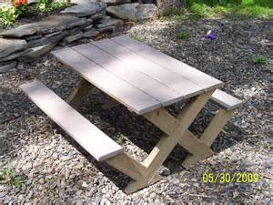 kids modern picnic table ana white woodworking projects