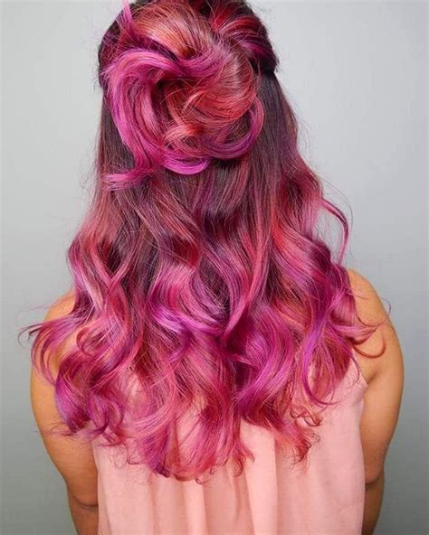 middle aged women who dye their hair magenta 20 unboring styles with magenta hair color