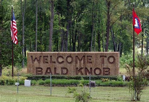 Bald Knob Department Arkansas by Top 10 Craziest Town Names
