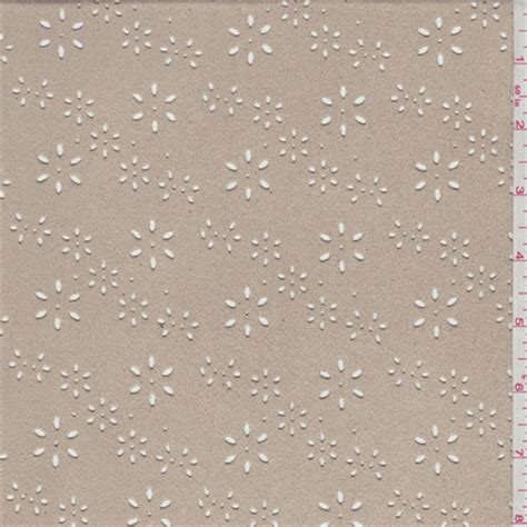 how to cut jersey knit fabric golden beige floral laser cut microsuede knit 48511