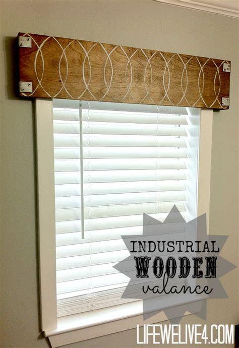 No Sew Cornice Window Treatments Best 25 Wooden Valance Ideas On Window