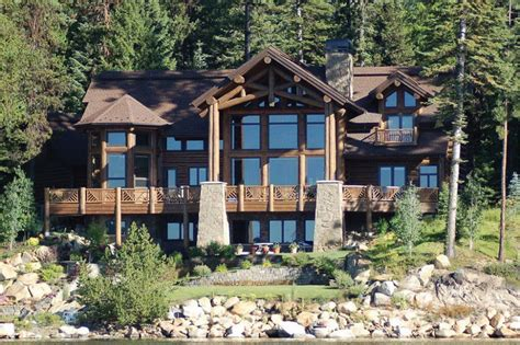 large log home plans big sky log home plan floor plans 171 gallery of homes
