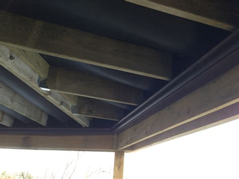 Ceiling Roof underdeck drainage system