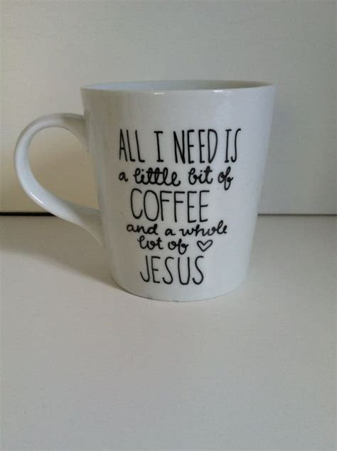 Ting Stand Coffee Ter Rack Ting Rack Coffee Ter Stand a bit of coffee and a whole lot of jesus ceramic coffee mug painted 16 oz