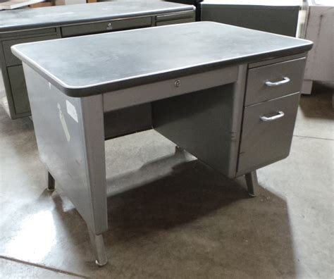 Small Tanker Desk Single Pedestal Tanker Desk With Drawer Williams Design