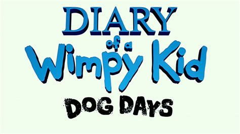 diary of a wimpy kid days trailer diary of a wimpy kid days