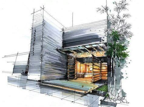 enhanced home design drafting hmm architecture sketching rendering rough drawing