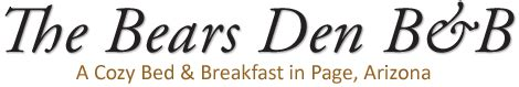 bed and breakfast page az the bears den bed breakfast llc page arizona bed and