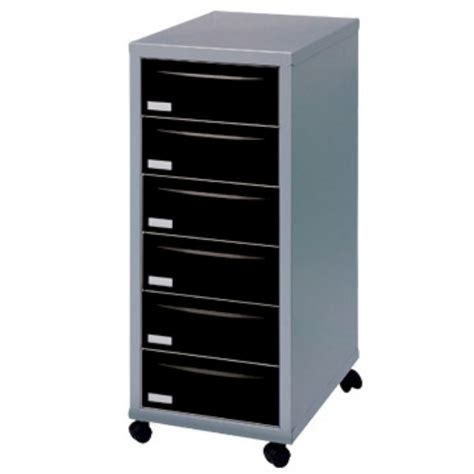 6 drawer cabinet on wheels 6 drawer a4 filing cabinet with wheels silver black