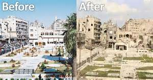 syria before and after השואה של העם הסורי