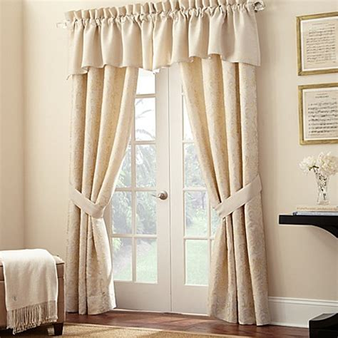 bed bath and beyond window treatments waterford 174 linens lysander window treatments bed bath