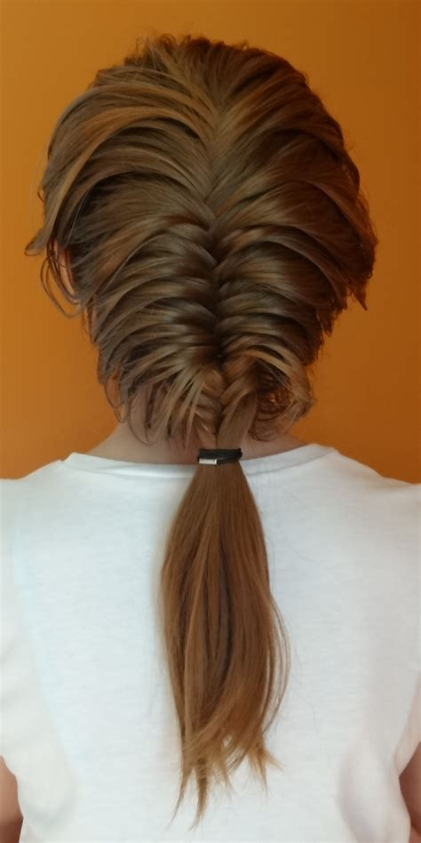 history of fishtail braid hair fishtail french braid with side waterfall hairstyle