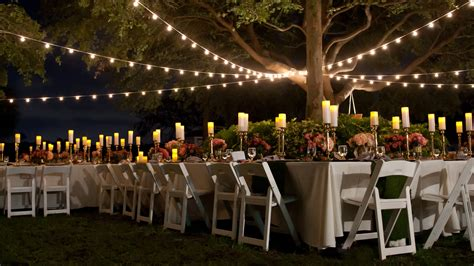 Outdoor Bistro Lights The Lighting Sound Company