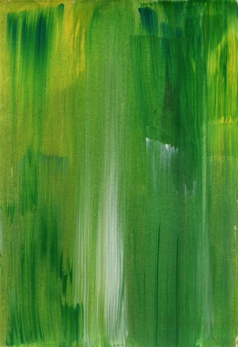 Green Paint by Jip S Page Drawing Cards