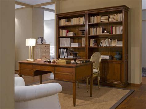 librerie in stile libreria in stile classico per ufficio idfdesign