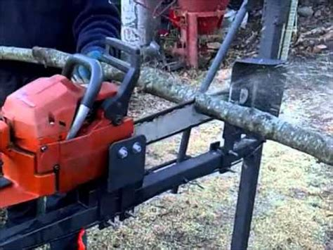chainsaw bench can cervera chainsaw bench saw support saw stand second prototype youtube
