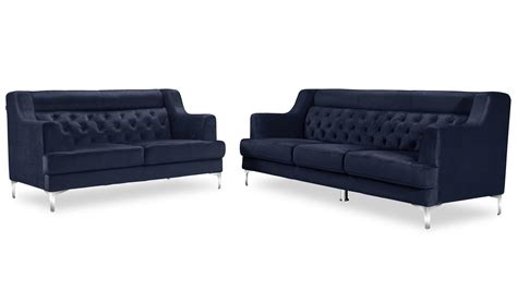chrome legs for sofa zara fabric tufted sofa with chrome legs navy blue