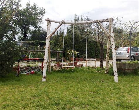www giardino it arredamento giardino altalena in legno betulla