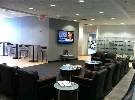 bmw boston service customer waiting area at bmw of boston yelp