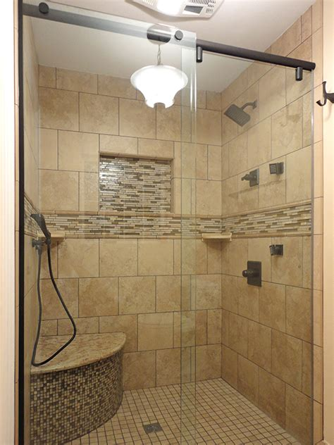 Standing Shower Glass Door Frameless Shower Enclosures Orlando Bathroom Shower Doors Shower Enclosures Orlando Shower