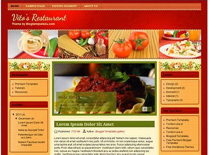 free blogger templates for restaurant where to find three column blogger templates lovetoknow